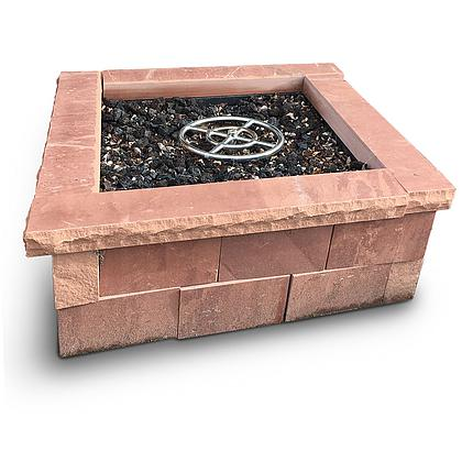 Fire Pit Kit Square Cherokee
