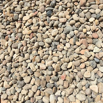 "½ - 1"" River Rock Cobble - VC"